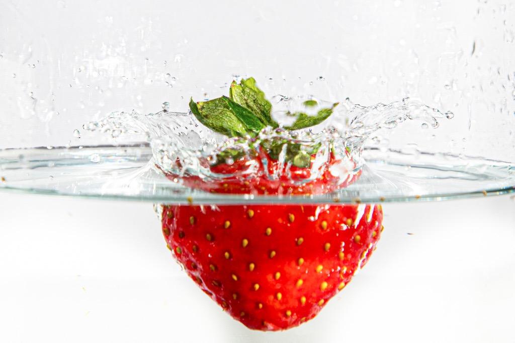 Splash - Erdbeere